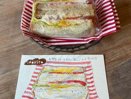 7月『イトキトさんのサンドイッチを描く!』