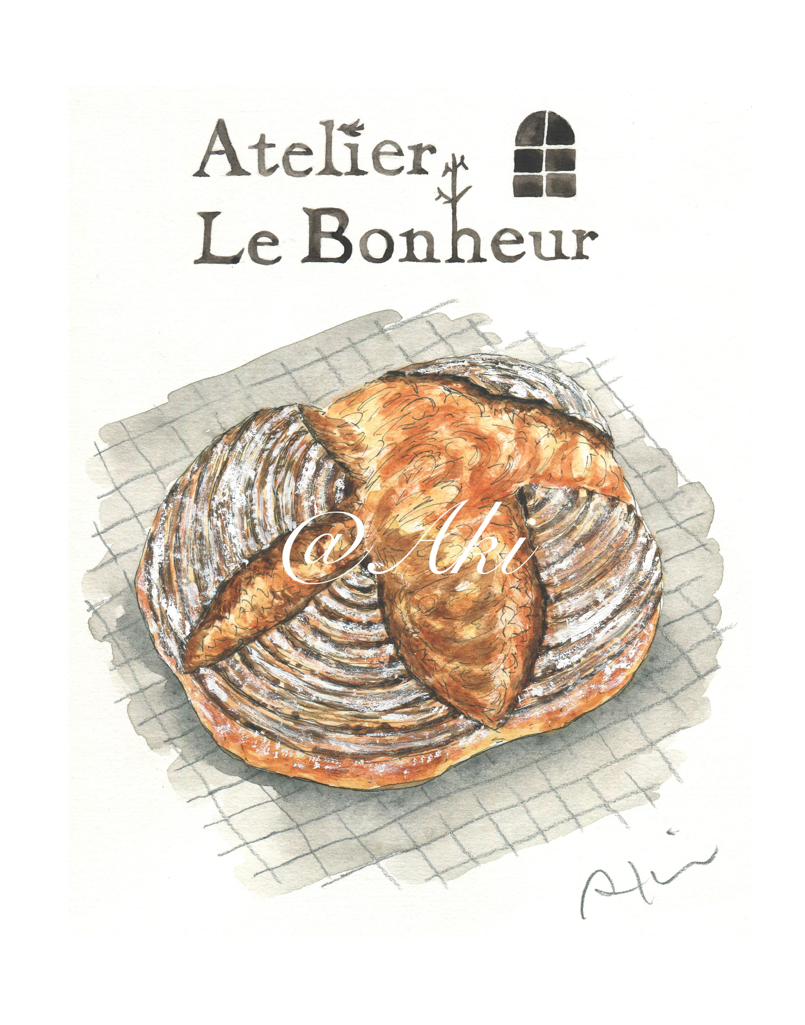 人気パン教室『Atelier Le Bonheur』