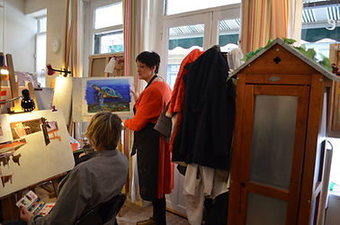 Atelier Galerie Etre Rouen - Cours de dessin et peinture