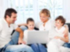 Family enjoying DSL Internet in Boise Id, Nampa ID