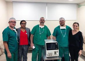 Hospital de Câncer realiza cirurgia de ablação por micro-ondas