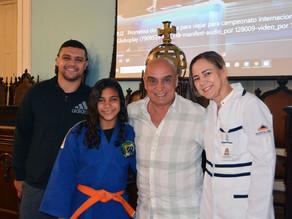 Hospital Casa patrocina judoca de apenas 11 anos