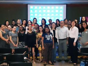 Hospital Casa Egas Moniz realiza palestra no Prezunic