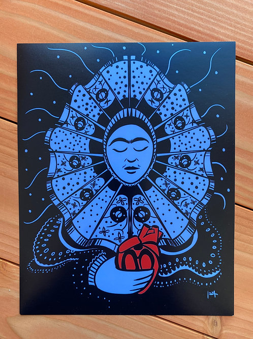 Frida y Corazon Digital Print