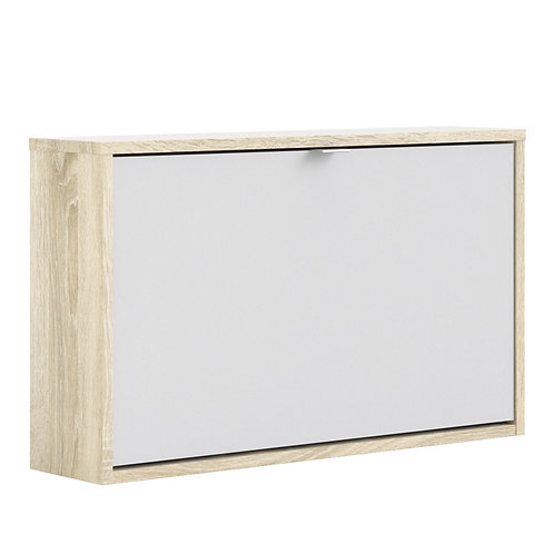 Shoe Cabinet With 1 Tilting Door And 1 Layer