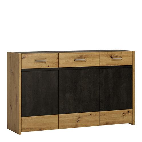 Aviles Sideboard 3 Doors 3 Drawers
