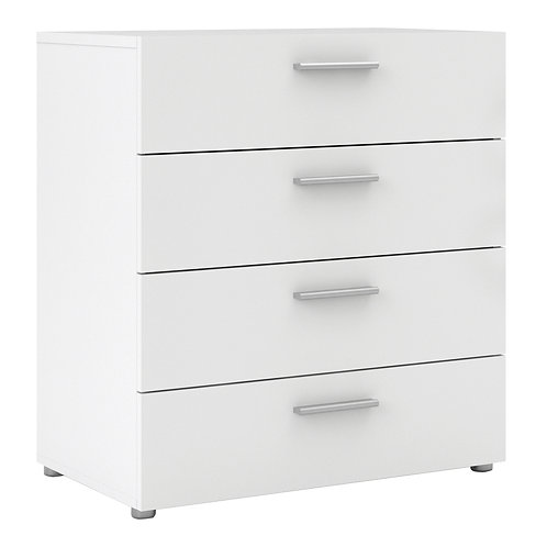 Pepe Chest Of 4 Drawers In White