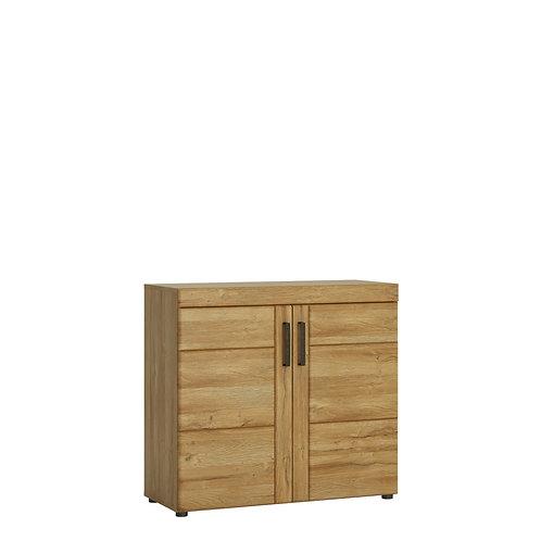 Cortina 2 Door Cabinet In Grandson Oak