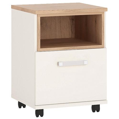 4Kids 1 Door Desk With Opalino Handles