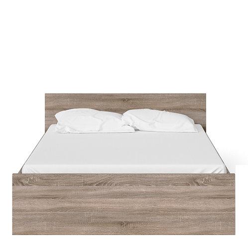 Naia Euro King Bed (160CM X 200CM) In Truffle Oak