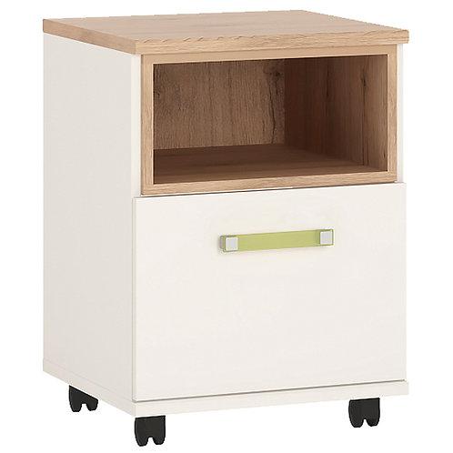 4Kids 1 Door Desk Mobile With Lemon Handles