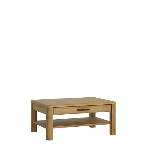 Cortina 1 Drawer Coffee Table In Grandson Oak