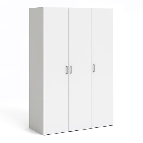 Space Wardrobe With 3 Doors White