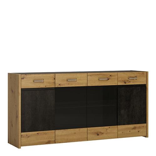 Aviles Sideboard 4 Doors 2 Drawers