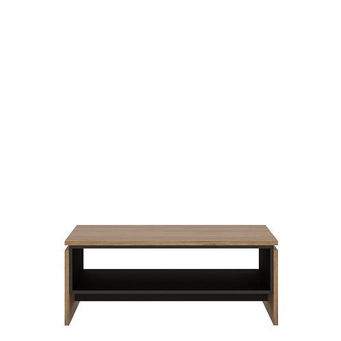 Brolo Coffee Table With The Walnut And Dark Panel Finish