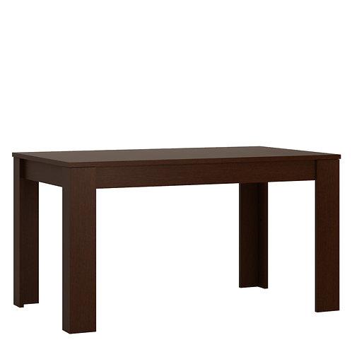 Pello Extending Dining Table In Dark Mahogany