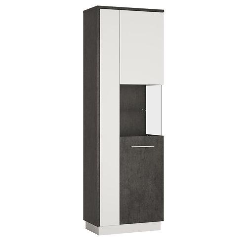 Zingaro Tall Right Handed Display Cabinet