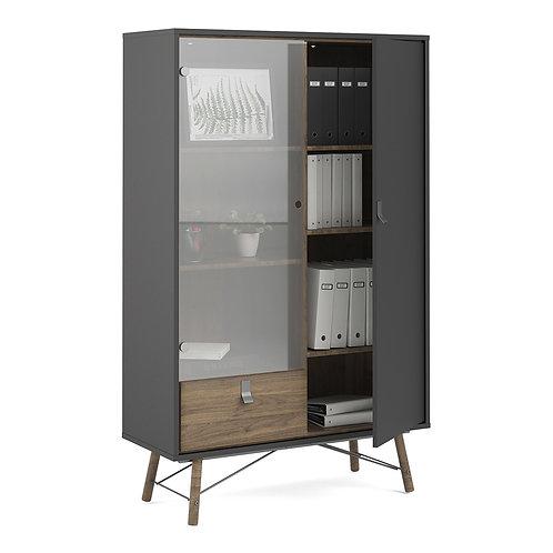 Ry China Cabinet 1 Door 1 Glass Door 1 Drawer