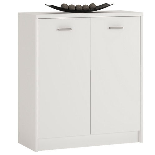 4 You 2 Door Cupboard In Pearl White