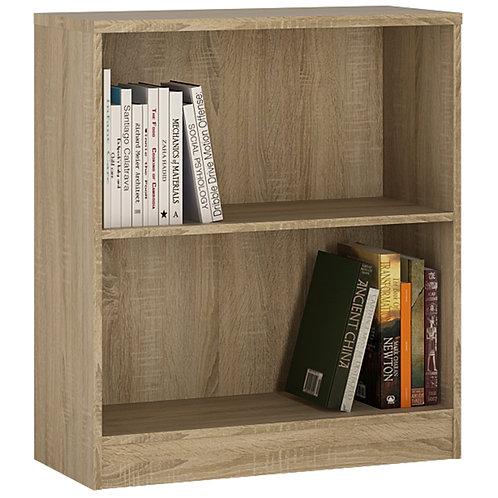 4 You Low Wide Bookcase In Sonama Oak