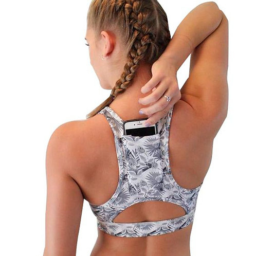Supportive Sports Bra (with pocket)