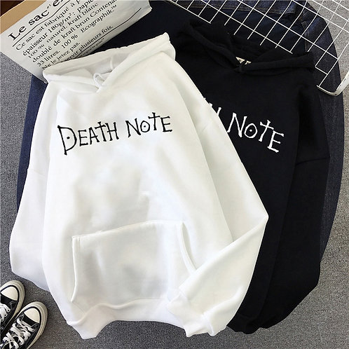 Death Note Oversized Cotton Hoodie