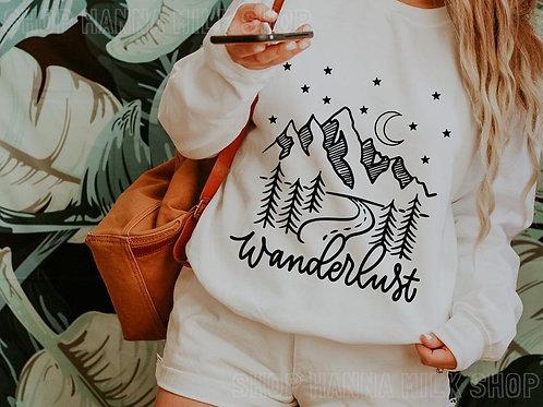 Wanderlust Cotton Sweatshirt