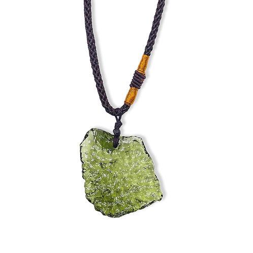 Moldavite Meteorite Necklace