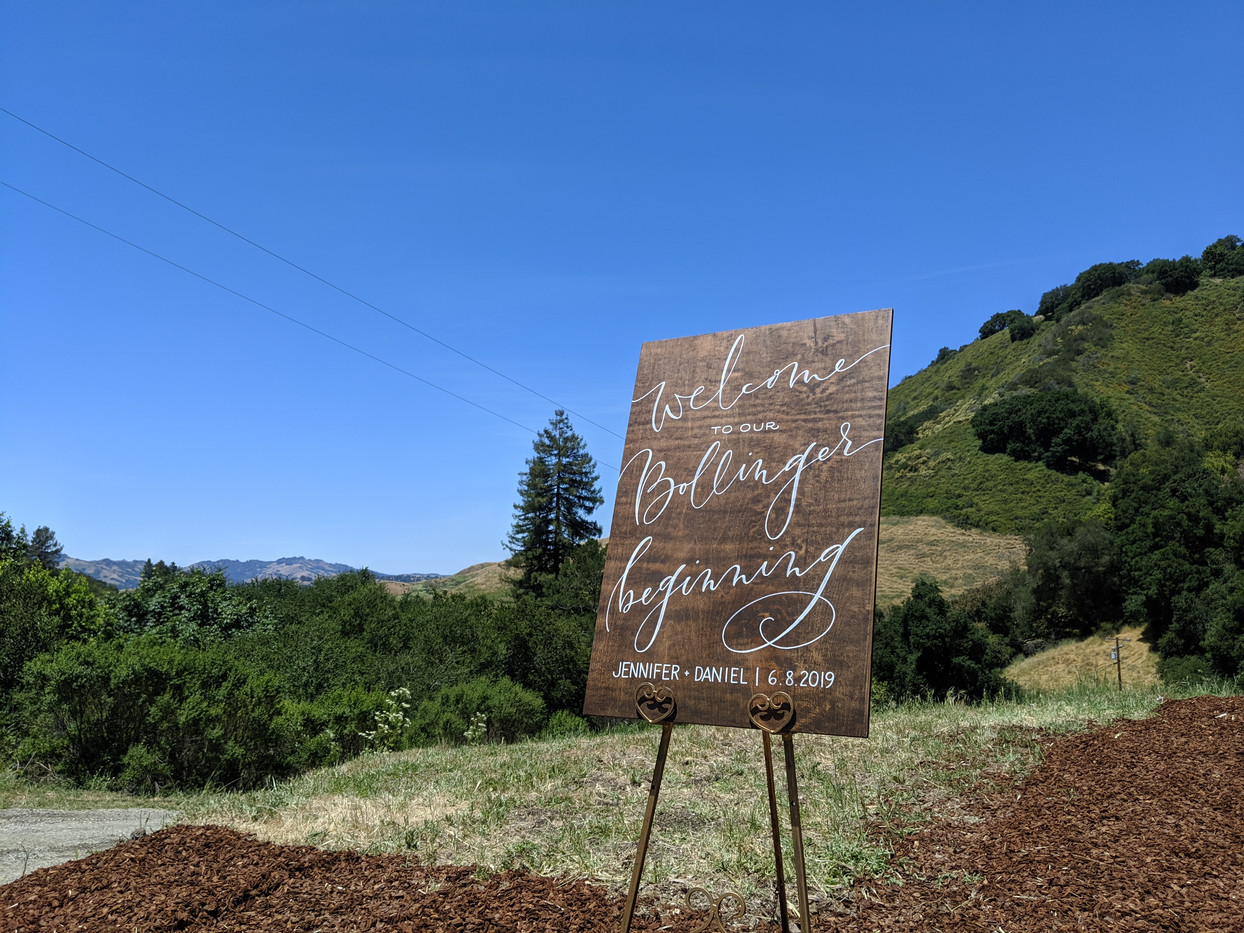 Wedding in the Hills