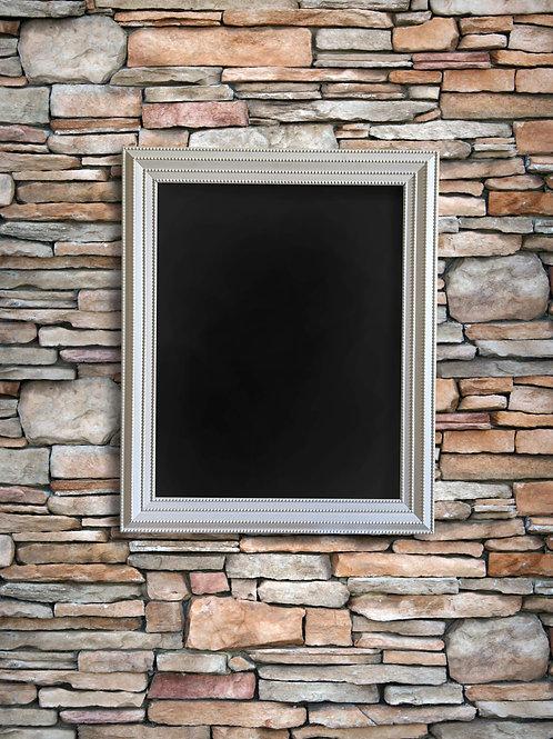 R044 - Grey Beaded Chalkboard