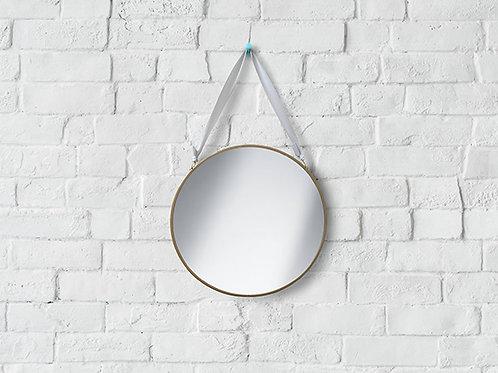 R040 - Small Gold Mirror