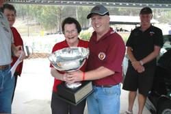 12 presenting the 2007 Glyn Scott Trophy at the 2007 QHC to Richard Mattea