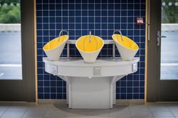 Vasques partie sanitaire