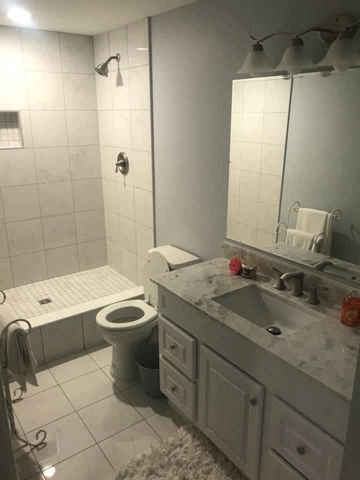 marble batroom