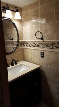 Marble bathroom Hilliard ohio