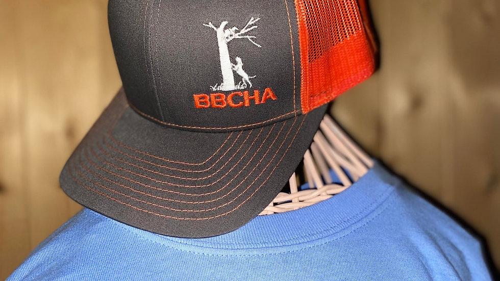 Orange and Grey Summer Hat