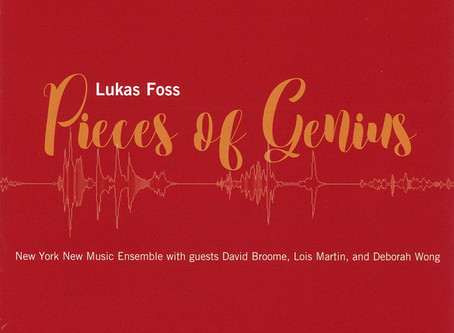 "CD Release: Foss ""Pieces of Genius"""