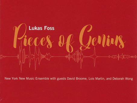 """CD Release: Foss """"Pieces of Genius"""""""