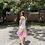 Thumbnail: Vestido tricolor
