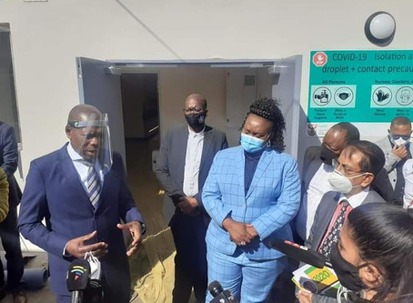 HEALTH MINISTER: KZN Gets the Thumbs Up