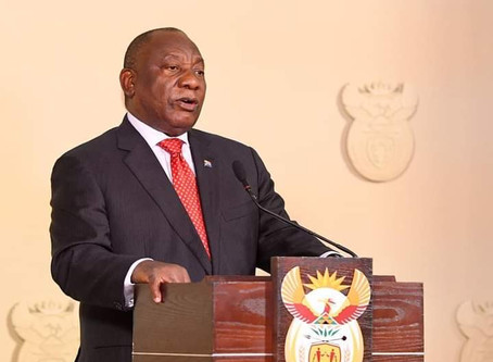 The President's address: Tonight 15 Aug 2020