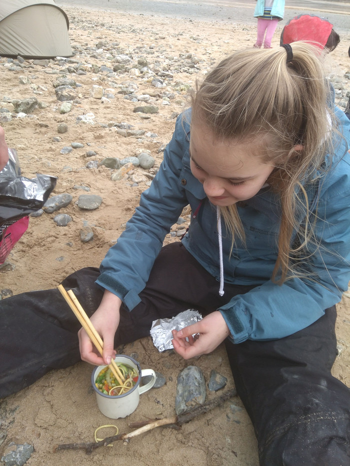 Outdoor Education and Food