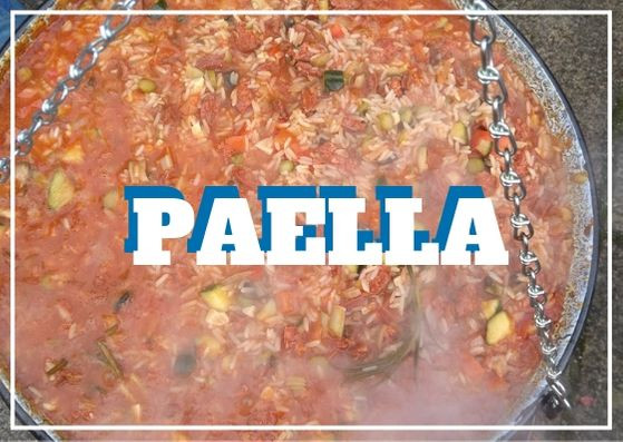 Outdoor Community Cooking Recipes #5 Paella