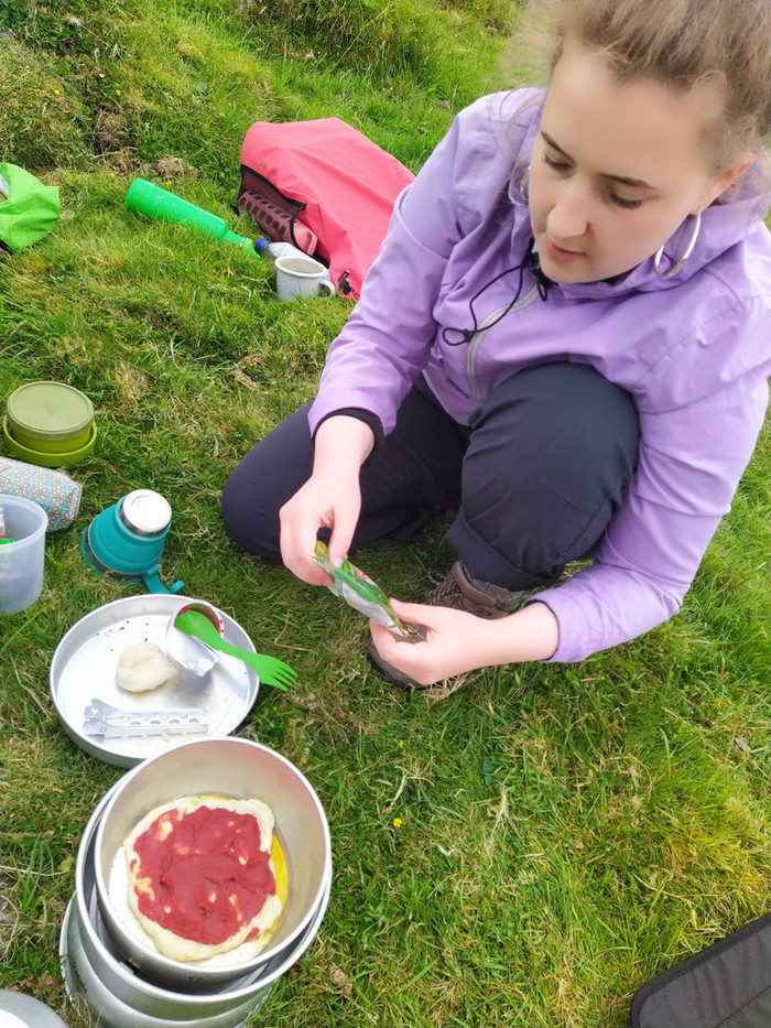 Cooking Outdoors and Covid