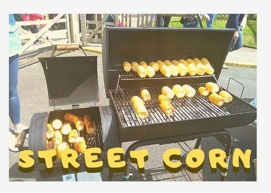 Outdoor Community Cooking Recipes #7 Street Corn