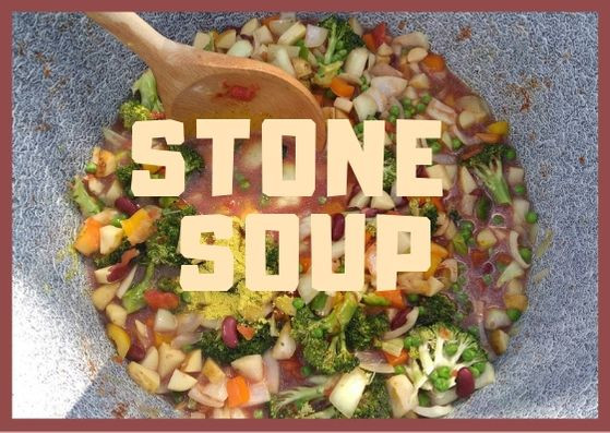 Outdoor Community Cooking Recipes #4 Stone Soup