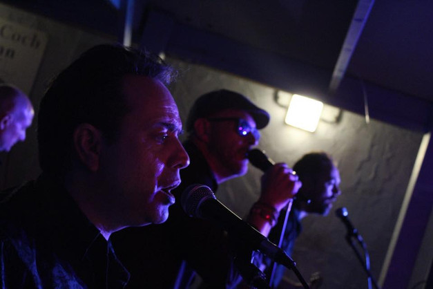 Jez, Will and the Beekster in full flow