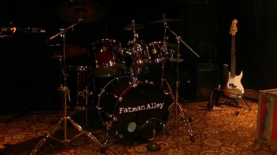The drum kit of rock
