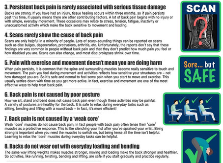 10 Facts Every Person Should Know About Back Pain