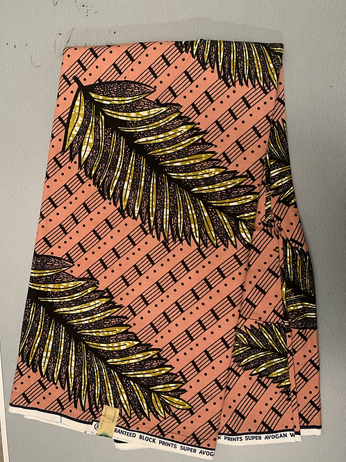 African fabric/ 6 yards/ Tribal print fabric/ 100% cotton/ Ankata fabric